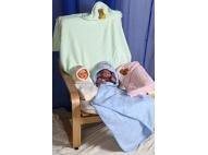 Полотенце детское махровое с капюшоном «Уголок»